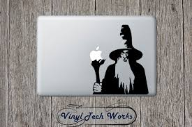 gandalf decal etsy lotr gandalf staff decal lord the rings sticker for apple macbook laptop hobbit window car wall vinyl
