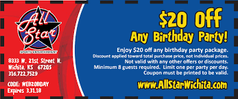 book your next birthday party online all star sports