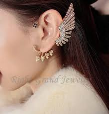 cartilage earrings gold angel wing ear cuff cartilage earrings skull ear cuff for