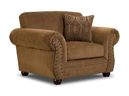 Simmons Upholstery Simmons Upholstery 4276 Covered In Chenille Fabric Royal