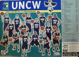 Uncw Map Women U0027s Basketball Poster Uncw Archives And Special Collections