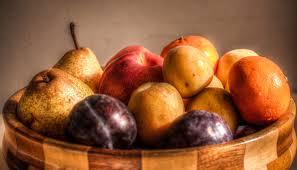 the fruit bowl hdr creme