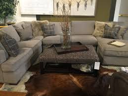 dune sectional in stock fabric driscoll marble client tr family