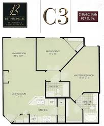 2 Bedroom Condo Floor Plans Biltmore Square Condo Floor Plans