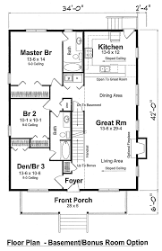 Lake Home Plans Narrow Lot House Plan 74001 Cottage Narrow Lot Traditional Vacation Plan