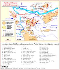 map of allen volcanoes of lewis and clark boring lava field from allen 1975