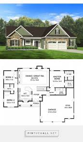dreamhome source ranch house plan with 1598 square feet and 3 bedrooms from dream