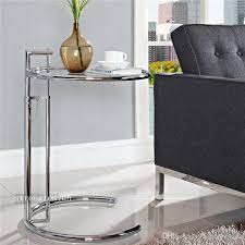 eileen grey side table 2018 eileen gray sofa side table lift stainless steel glass coffee