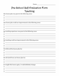 resume exles for teachers pdf to excel evaluation evaluation teacher form preschool sle resume