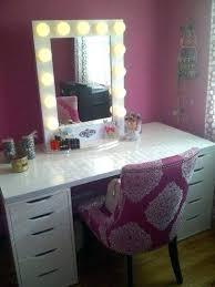 Diy Makeup Vanity Chair Vanities Makeup Vanity Mirror With Lights Ikea Vanity Makeup