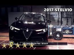 si e auto crash test 2017 alfa romeo stelvio crash test ncap 5