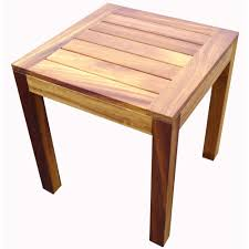 light wood end tables iroko light wood end table tf from ultimate contract uk