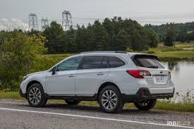 subaru outback touring 2018 first drive 2018 subaru legacy and outback