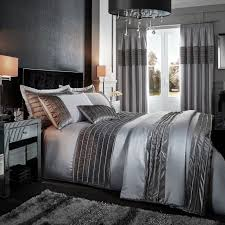 Bedroom Band Isla Corded Velvet Band Curtains Silver U2013 Glam Home Store