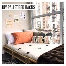 How To Make A Platform Bed From Pallets by Diy Pallet Bed Hacks Napoleonia