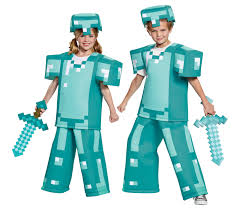 Minecraft Halloween Costume Disguise Brings The Digital Adventures Of Minecraft To Life With