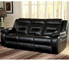 jamestown black reclining sofa by corinthian at furniture