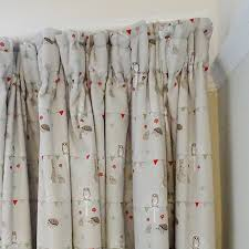 Fabric For Nursery Curtains Woodland Curtains Just Fabrics