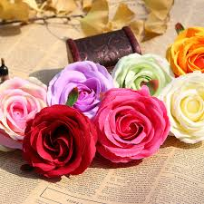 Wholesale Roses Wholesale Rose Heads 100pcs Colorful Rose Flower Silk Flowers Rose