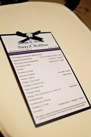 Winter Wedding Programs A Wedding Program Winter Wedding Significant Events Of Texas