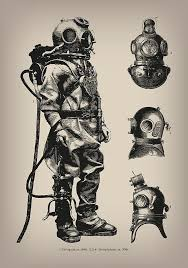 best 25 deep sea diver ideas on pinterest diving suit