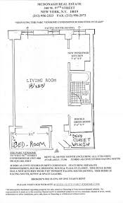 New York Condo Floor Plans by The Parc Vendome Appartment Rentals