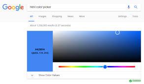 color html