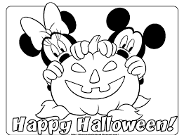 disney halloween printable coloring pages inside coloring pages to