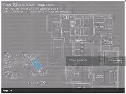 waterford residence floor plan waterford residence 23 kim yam road 2 bedrooms 1045 sqft
