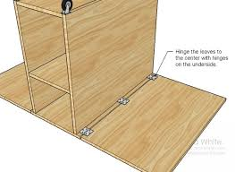 diy folding sewing table diy expandable table table for small spaces free and easy