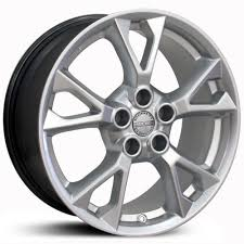 silver nissan nissan maxima ns20 factory oe replica wheels u0026 rims