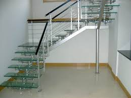 Stainless Steel Stairs Design Stainless Steel Stair Railing Home Design And Decor