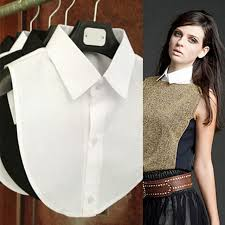 black blouse with white collar sale solid shirt collar white black blouse vintage