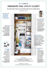 this is the best way to organize your utility closet real simple