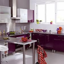 meuble cuisine violet vita meuble de cuisine haut une porte 40cm violet alinea 40 0x70