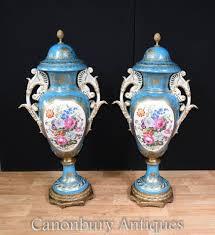 Sevres Vases For Sale French Sevres Porcelain Vases Champleve Urns Plates