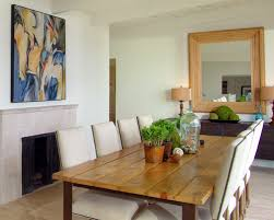 Modern Mirrors For Dining Room Wood Framed Mirrors For Modern Homes