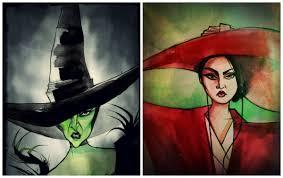 theodora wizard of oz costume ccimoroni illustration