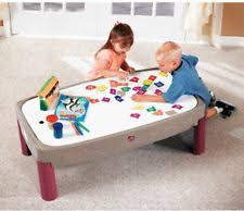step 2 plastic train table kids play table train track set step 2 activity storage 3 to