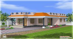 simple single floor house plans kerala style single storey 1800 sq feet home design home