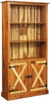 Bookcase With Doors Bookcase Cabinets All Amish Craftsman Listing