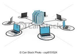 imagenes de archivo libres de derechos red archivo database o computadoras portátiles dibujo