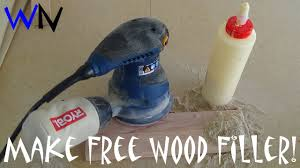 how to free wood filler