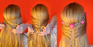 Haarband Frisur Lange Haare Offen by Flower Boho Hair Mélange