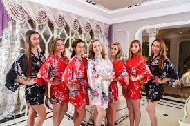 bridesmaids robes cheap satin1 bridal robes cheap dressing robe satin robe kimono