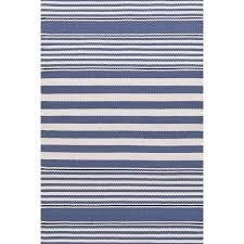 beckham stripe denim indoor outdoor rug dash u0026 albert