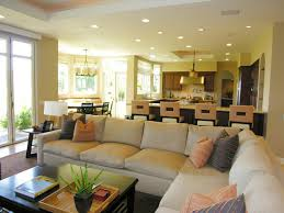 Kitchen And Living Room Design Lighting A Room The Right Way Open Floor Living Rooms And Coffee