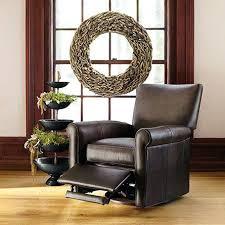 Round Living Room Chairs - unusual round swivel living room chair leather swivel recliner in