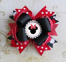 minnie mouse hair bow 146 best diy hairbows minnie images on hairbows