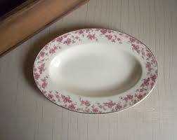 oval serving plate vintage myott bride u0027s bouquet gravy
